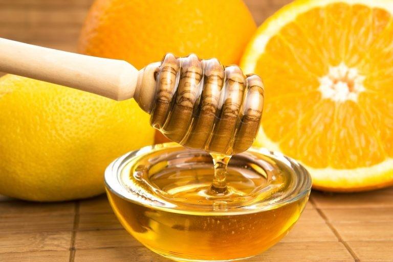 Nguyên liệu làm cam ép mật ong