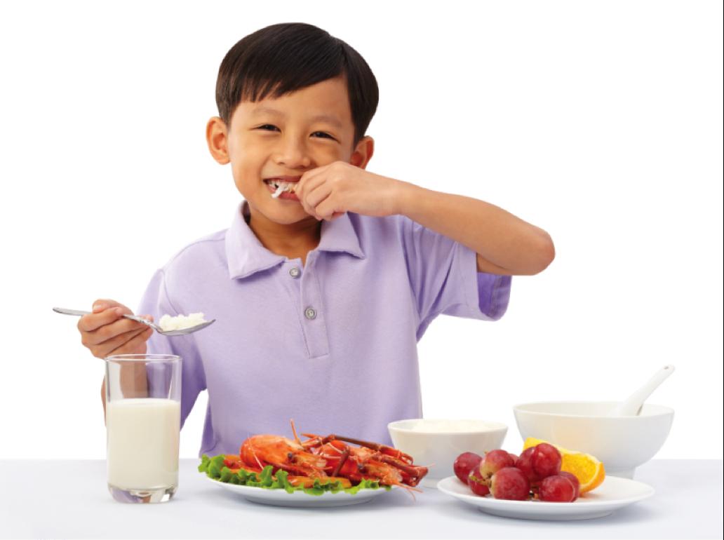 Nên giữ gìn vệ sinh ăn uống cho trẻ