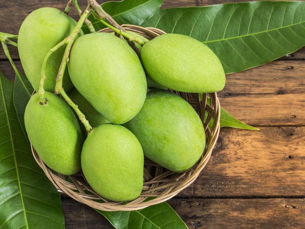 Xoài xanh – Thực phẩm chống say nắng cho trẻ