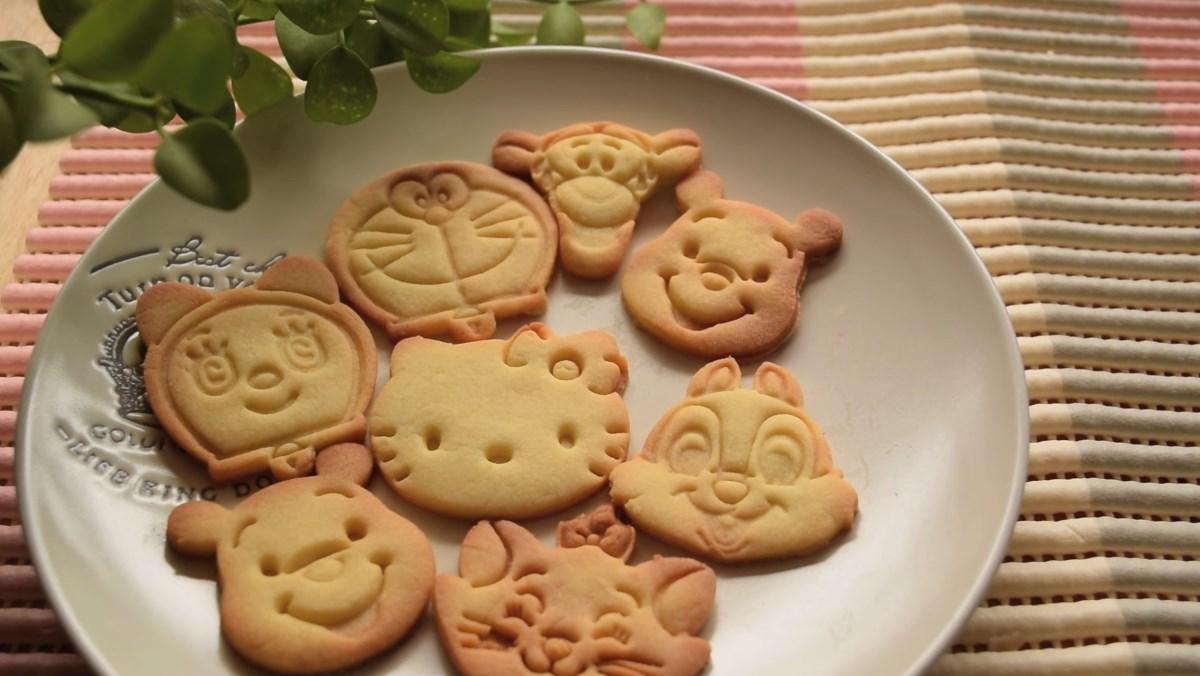 Cách chế biến bánh quy bơ hình thú