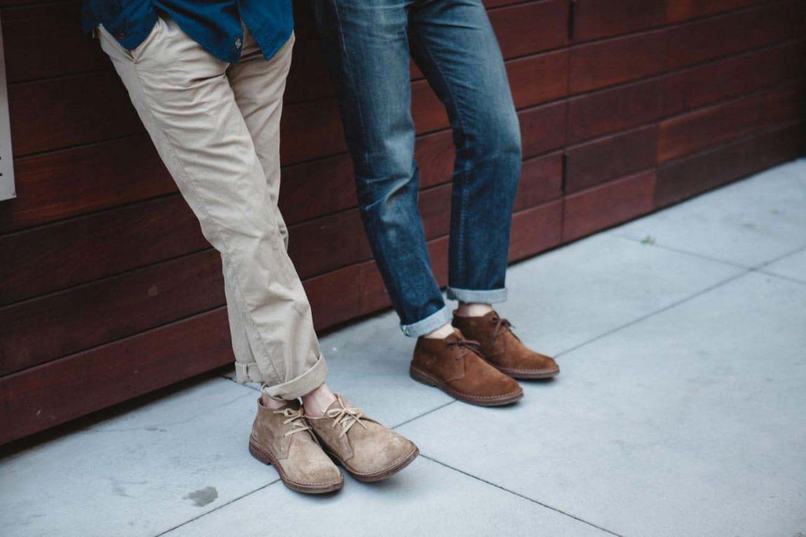 Thể hiện phong cách nam tính cùng giày Desert Boot.