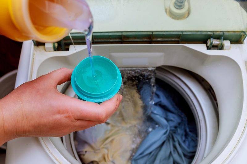 Sử dụng nước xả vải một lần xả