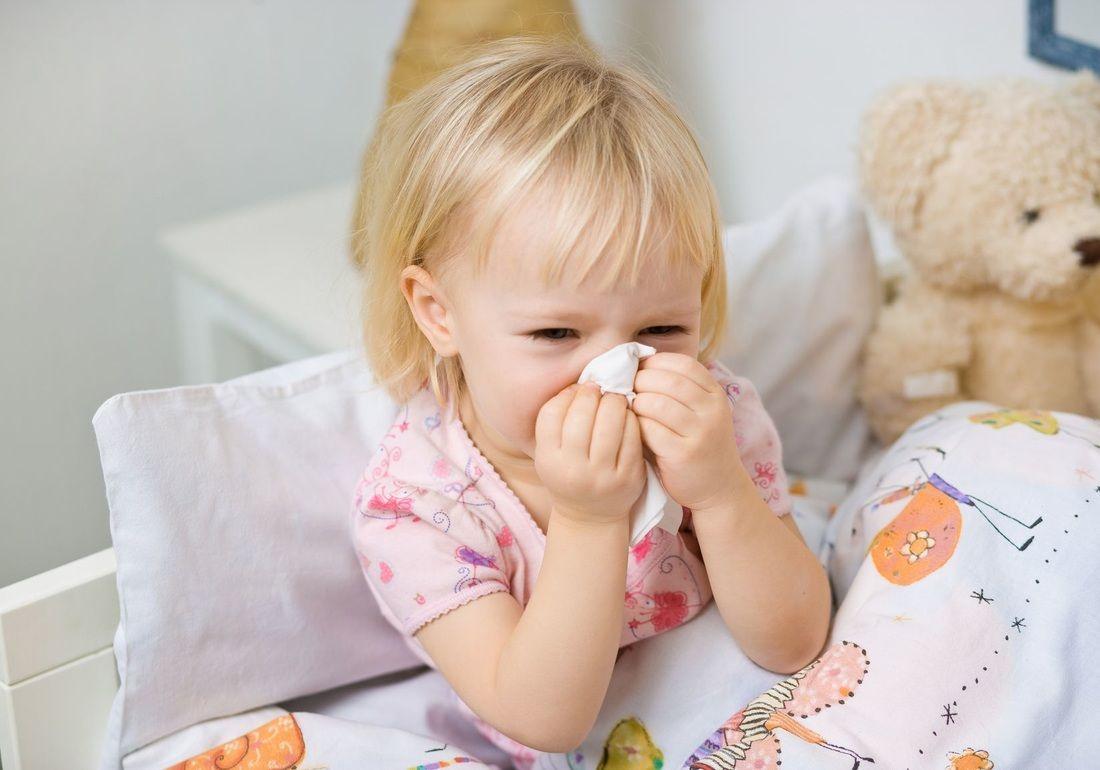 Trẻ nhỏ có hệ miễn dịch suy yếu