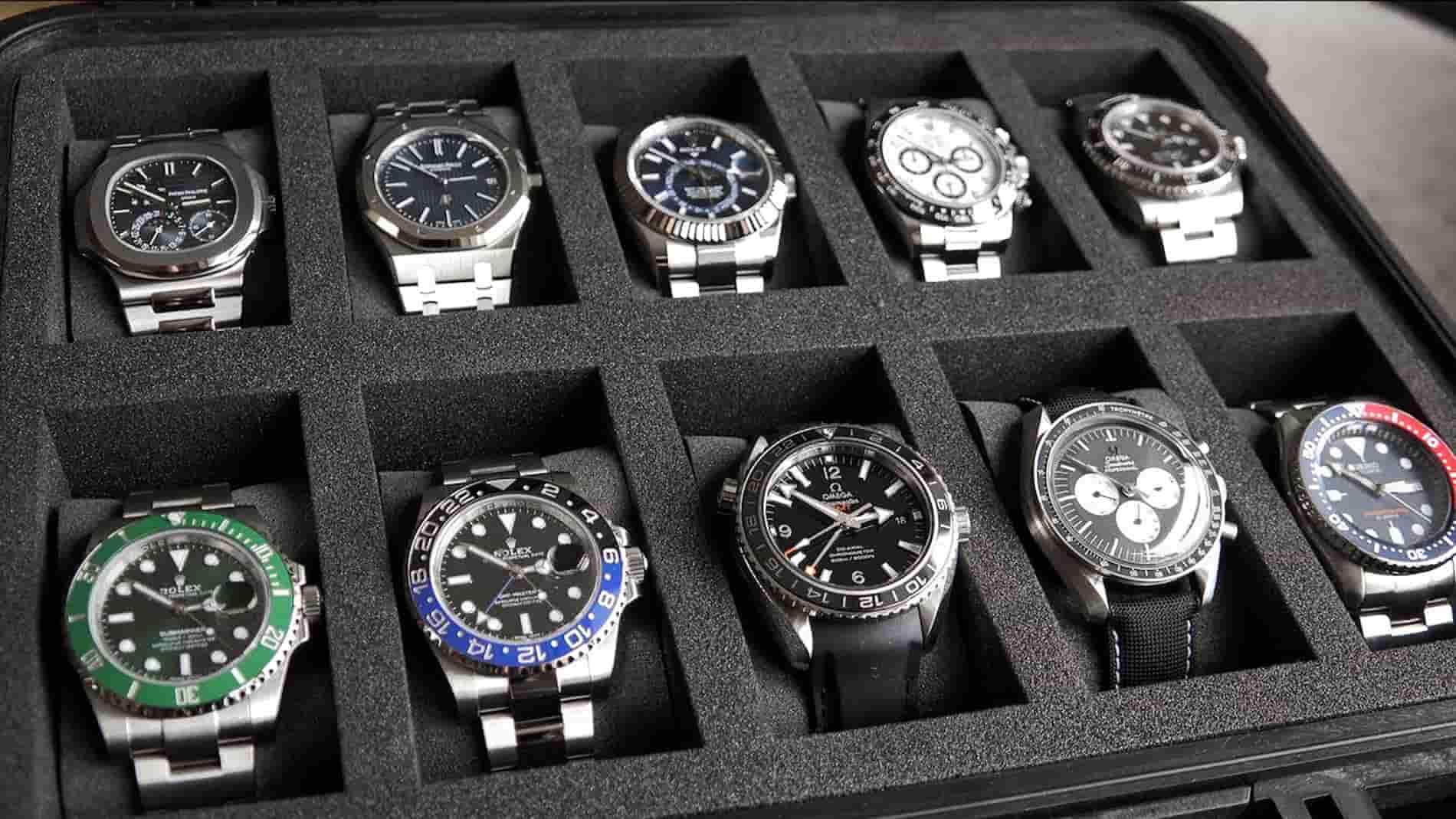 Bạn nên sở hữu bao nhiêu chiếc đồng hồ?