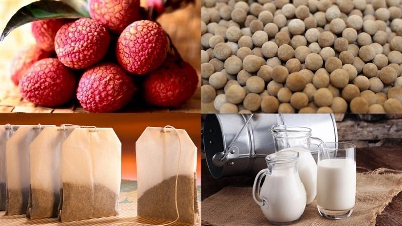 Nguyên liệu làm trà sữa trái vải