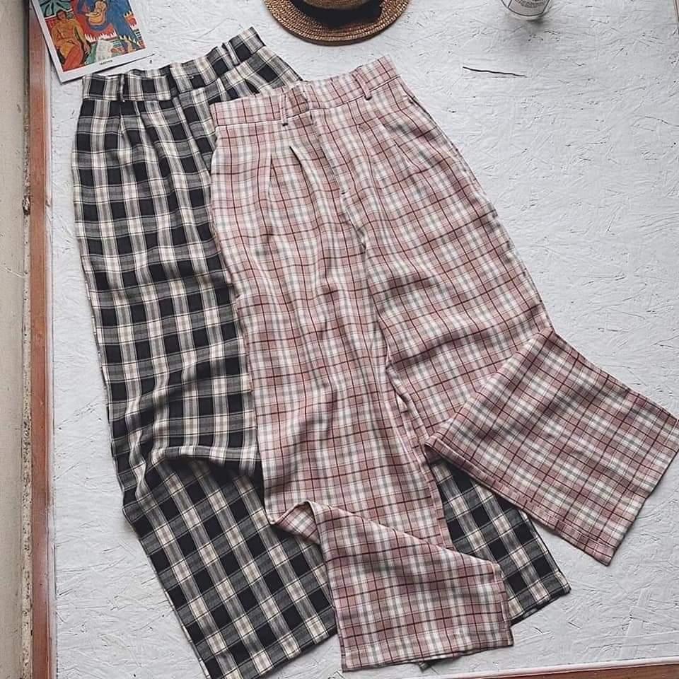 các mẫu quần đơn giản mix với áo phông