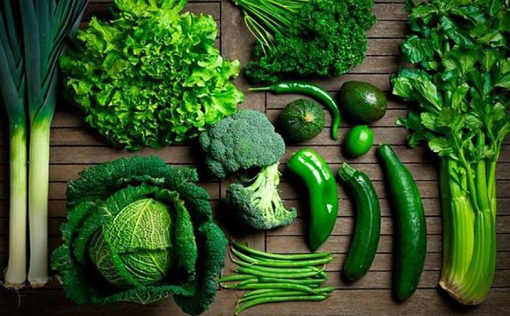 Bảo quản các loại rau xanh