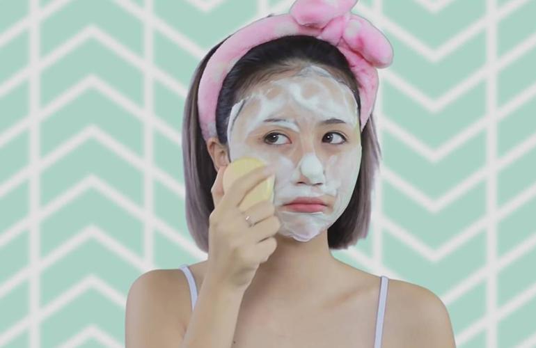 Không nên rửa mặt nhiều nếu bạn có làn da dầu