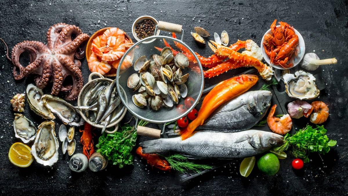 Một số loại hải sản
