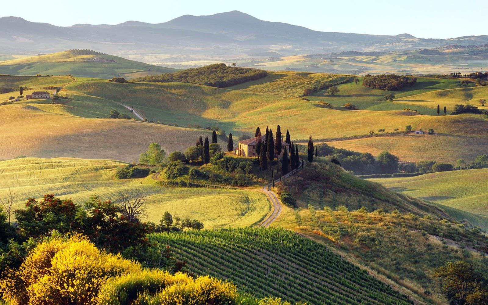 Vùng đất đẹp như tranh vẽ Tuscany