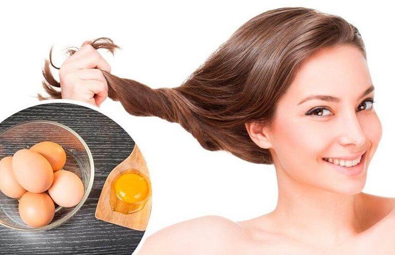 Trứng gà giúp chống rụng tóc hiệu quả