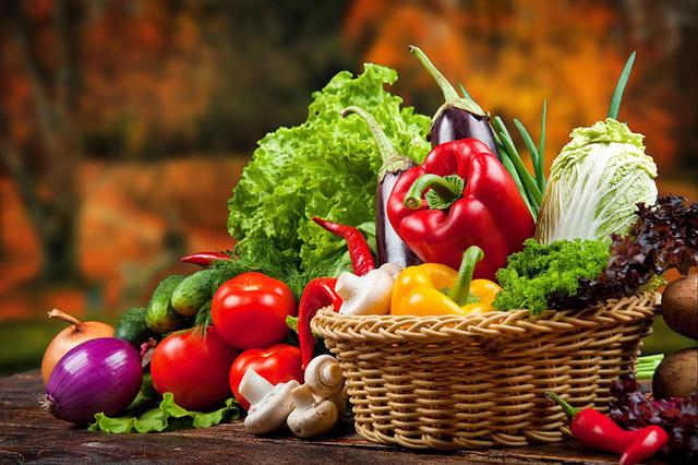 Đối với rau, củ, quả