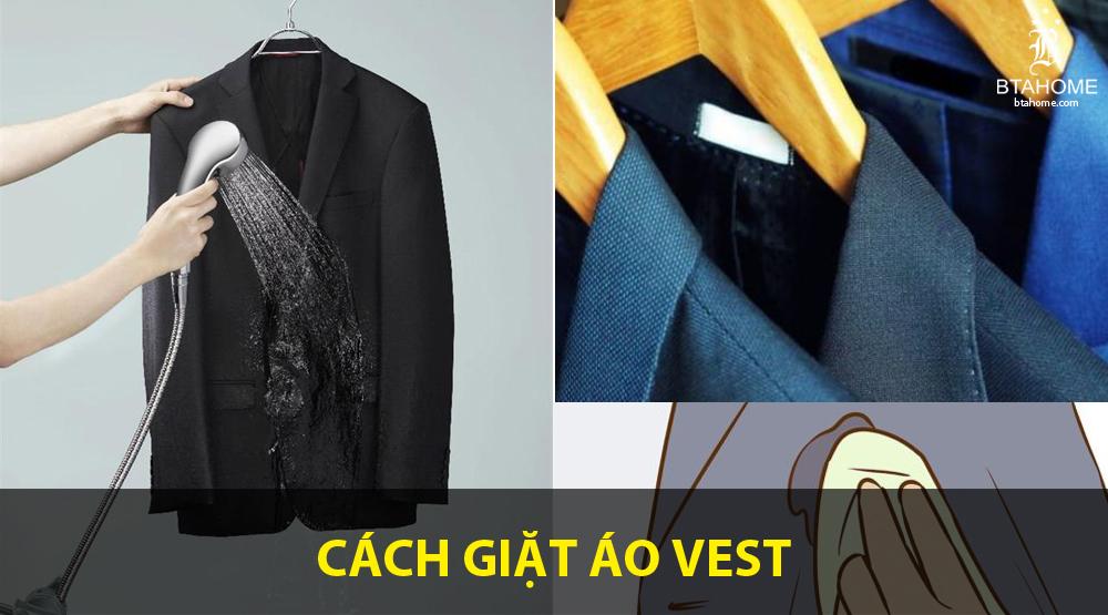 Giặt đồ Vest bằng tay sao cho đúng?