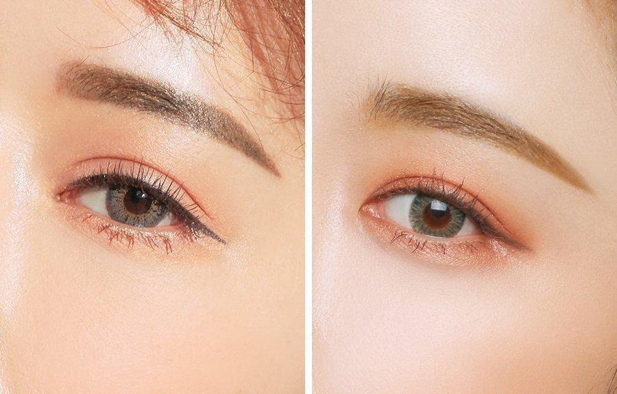 Cách tán phấn mắt màu hồng đào
