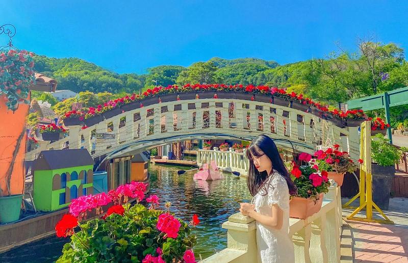 Nét đẹp sắc màu ở Herb Island Hàn Quốc