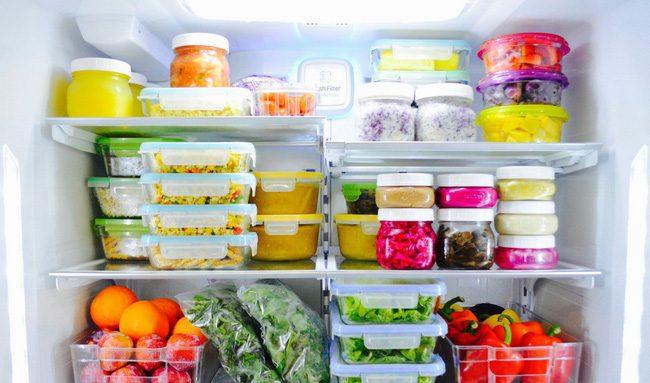 Sắp xếp đồ ăn trong tủ lạnh sao cho hợp lí?