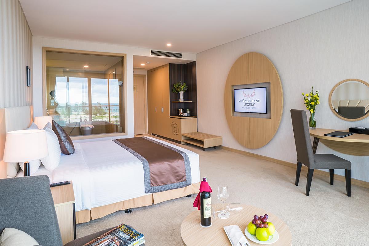Khách sạn Mường Thanh - Phúc Quốc sở hữu lối thiết kế tinh tế
