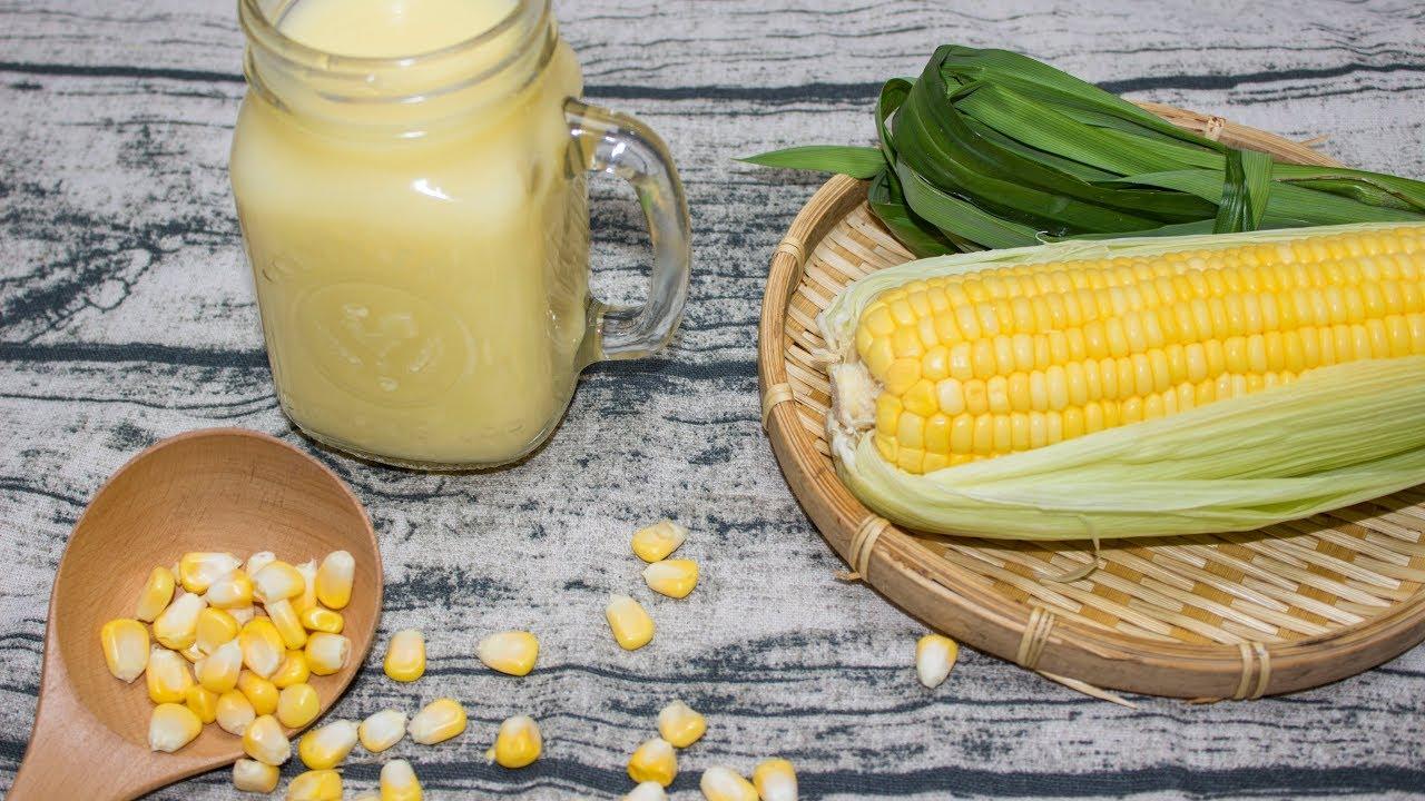 Nguyên liệu làm sữa bắp nước cốt dừa