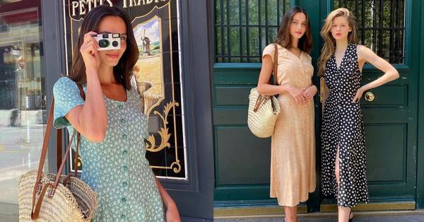váy quấn kiểu Pháp