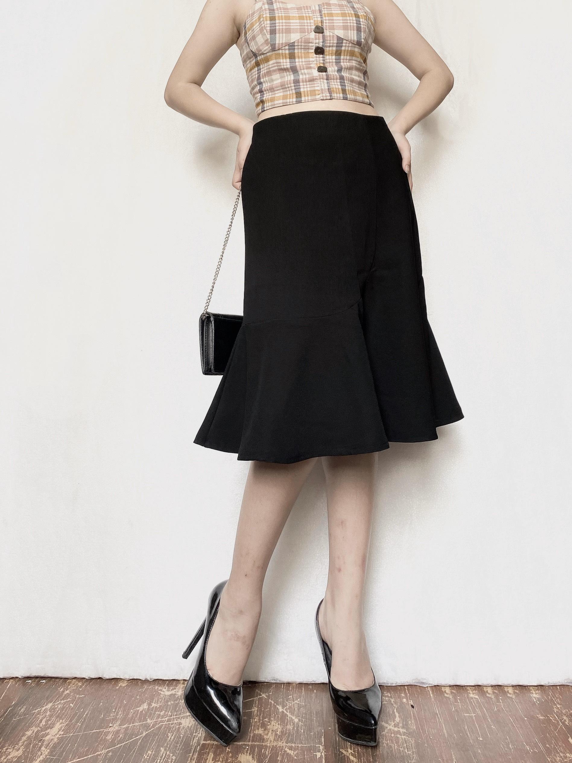 4 kiểu chân váy đơn giản